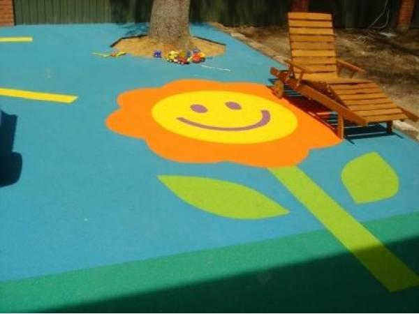 Характеристика и особенности резиновых покрытий для детских площадок